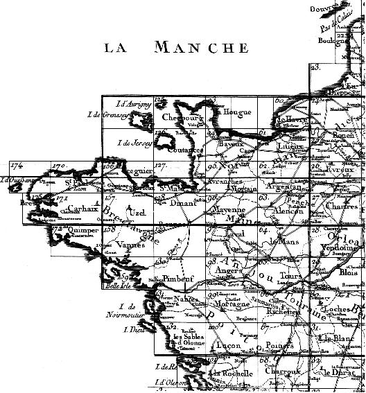 Carte De France Quart Nord Ouest | My blog